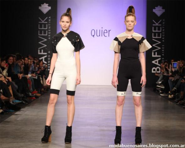 Quier primavera verano 2013. Bafweek moda 2013.