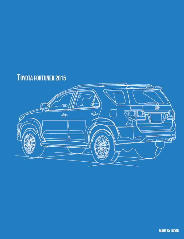 Toyota Fortuner Logo Vector Toyota Fortuner 2015 Vector