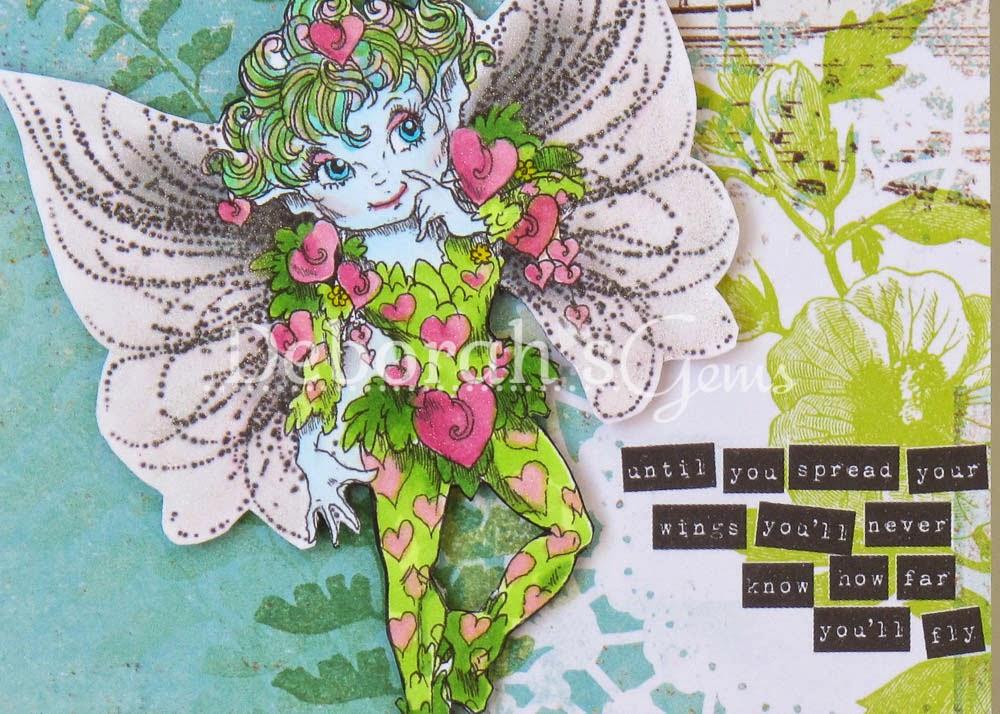 Fly High Detail 2 - photo by Deborah Frings - Deborah's Gems