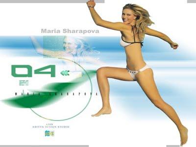 Sharapova  on Sport Player  Maria Sharapova Hot Wallpapers 2011