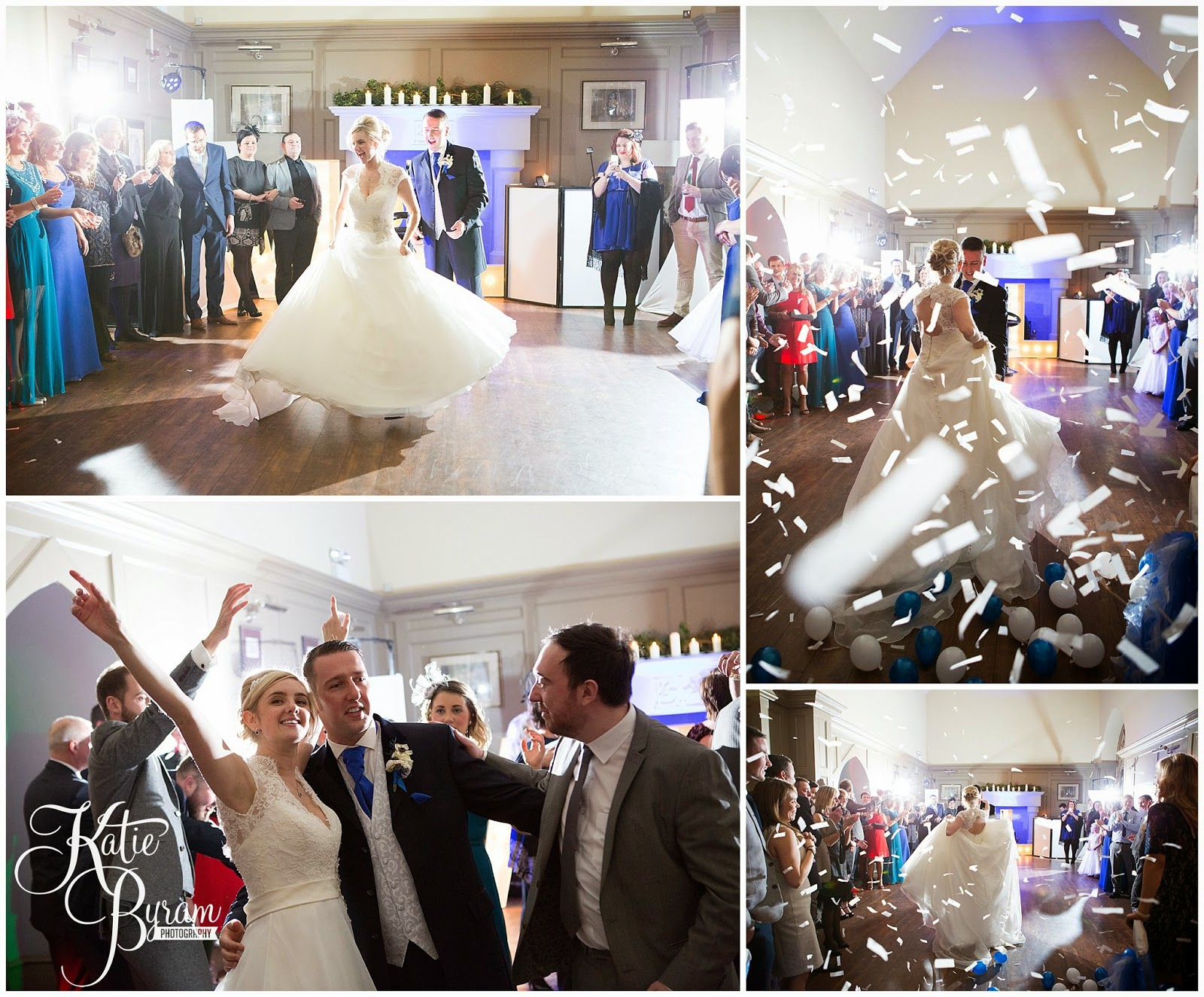 first dance confetti, ,  ellingham hall, ellingham hall wedding, katie byram photography, alnwick treehouse wedding, alnwick garden wedding, alnwick wedding,