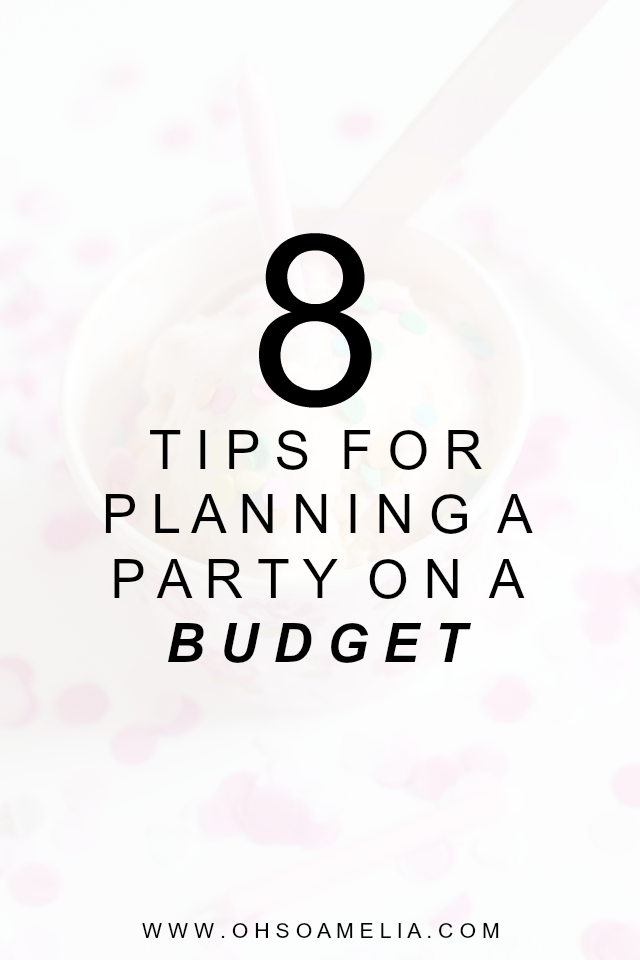 Planning a party on a budget?