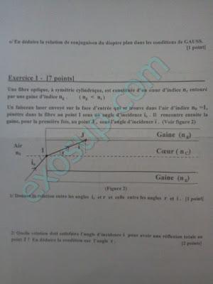 évaluation 1 optique géométrique smpc
