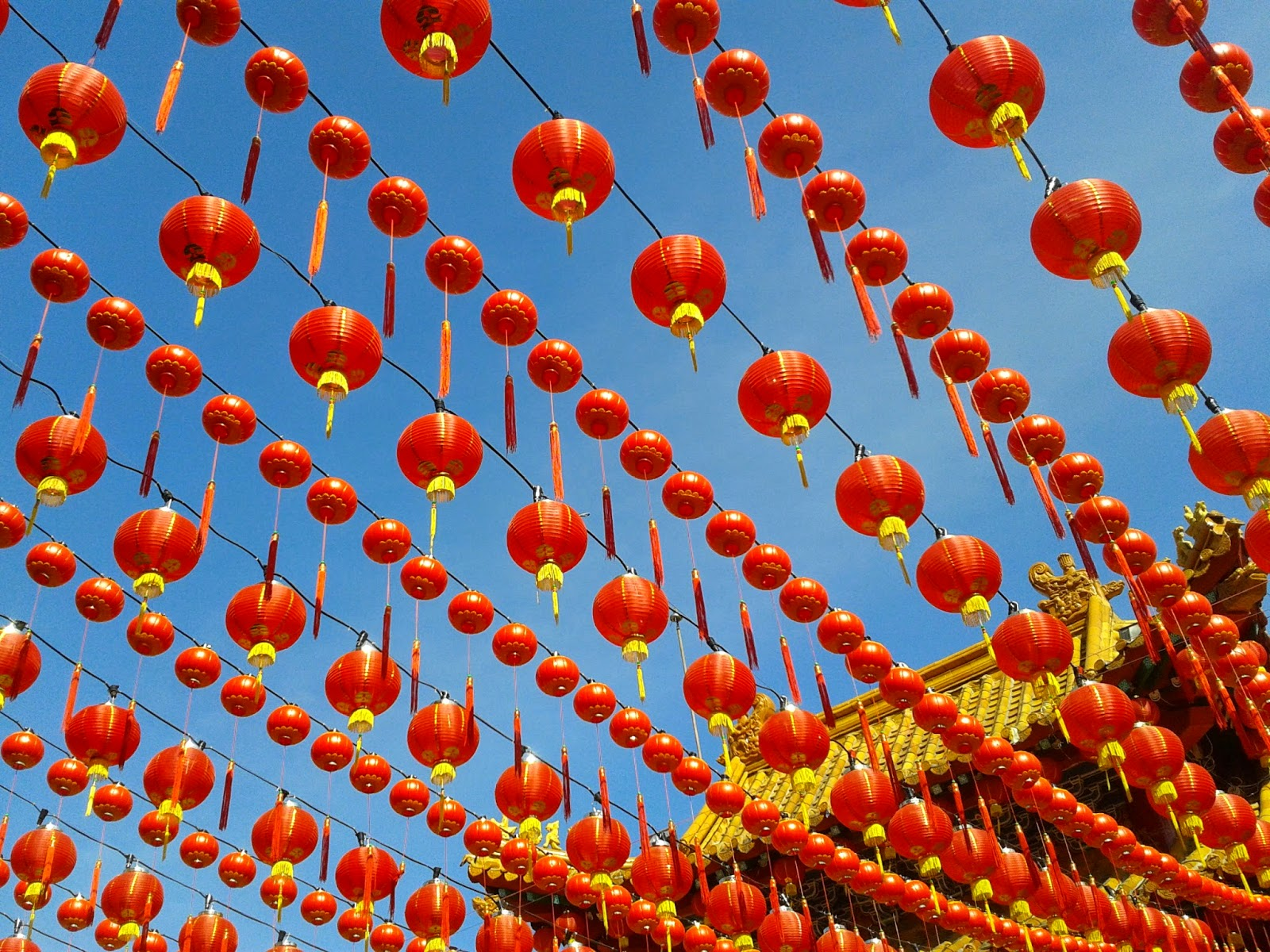 Picture Of Red Chinese Lanterns