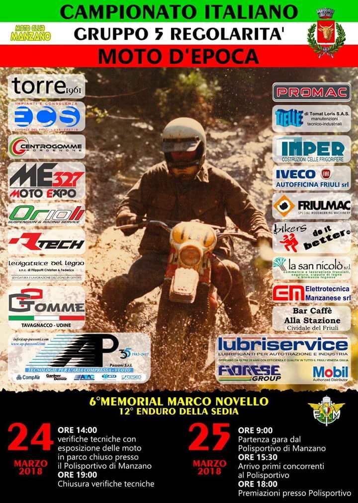 MANZANO CAMPIONATO ITALIANO GR 5 2018