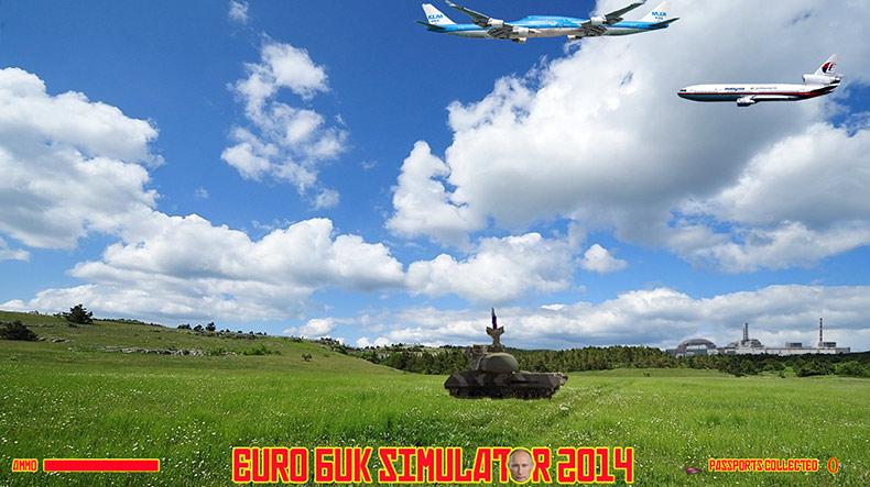 BIADAB GAME EURO BUK SIMULATOR PERSENDA KELUARGA MANGSA PESAWAT