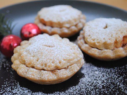English Mincemeat Recipe Of Britsh Christmas Food Mince Pies