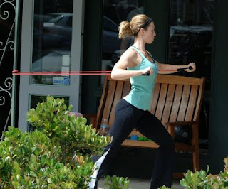 Jessica Biel's Strength Exercise