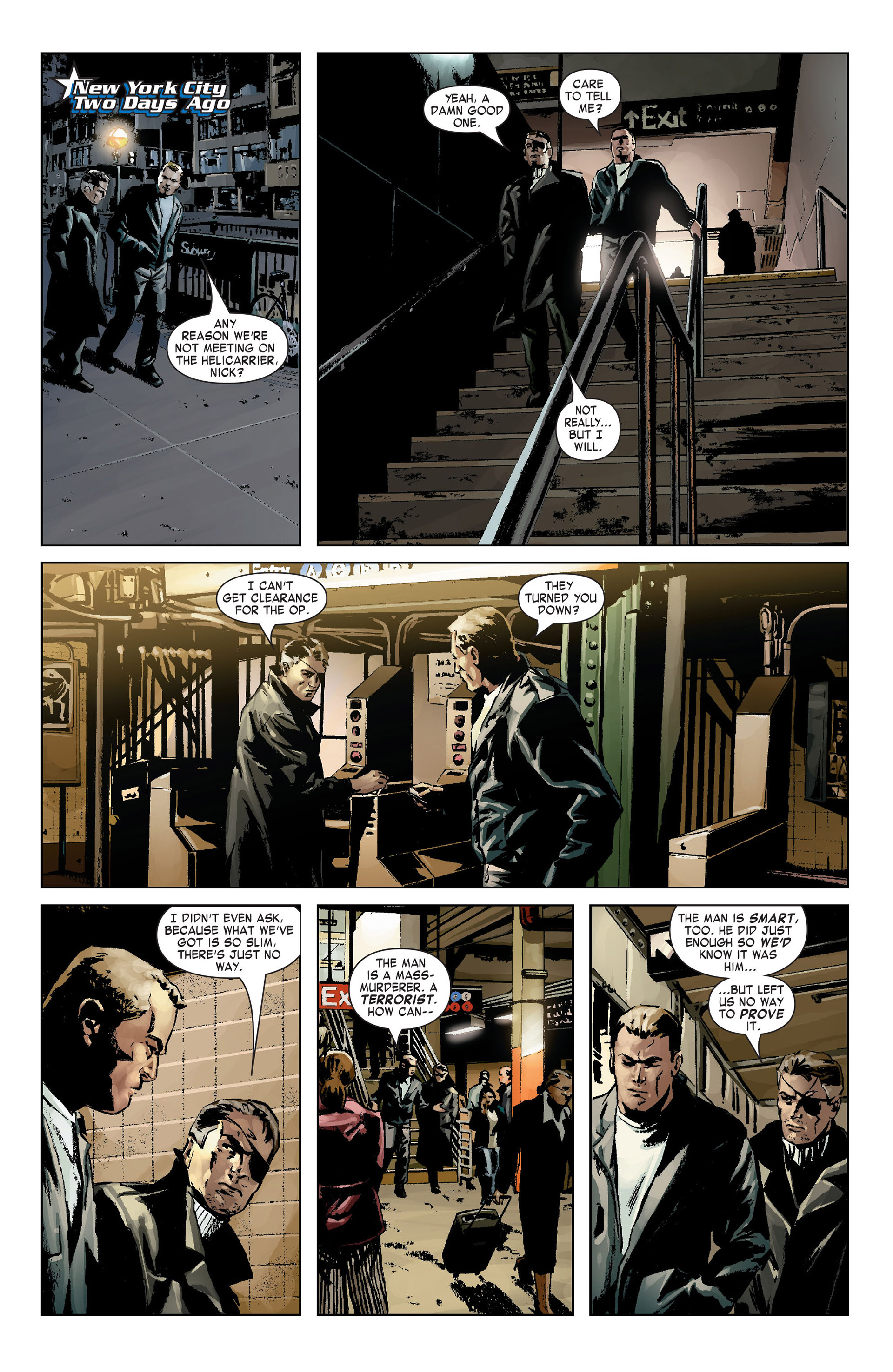 Captain America (2005) Issue #9 #9 - English 10