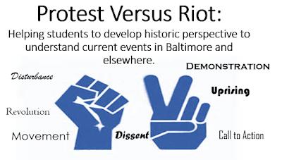Protest Versu Riot