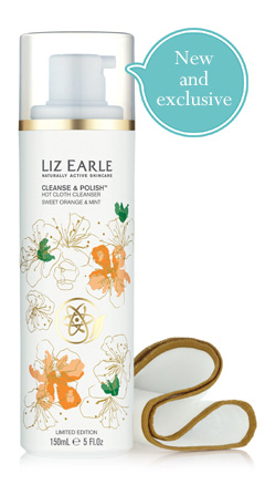 Limited Edition, Hot Cloth Cleanser, Sweet Orange. Mint