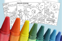 Free Personalized Coloring Sheet