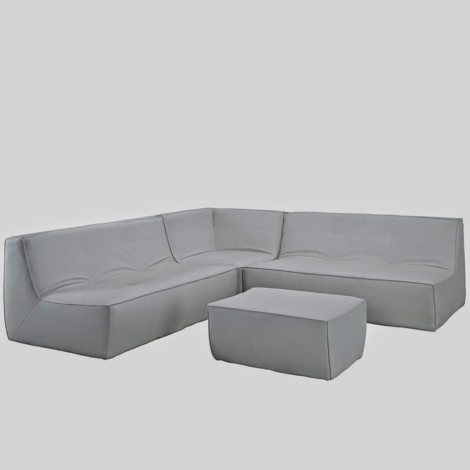 White Leather Couch Curved White Leather Couch