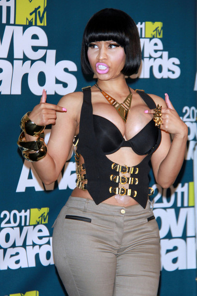 nicki minaj games dress up. Nicki Minaj at the MTV Movie