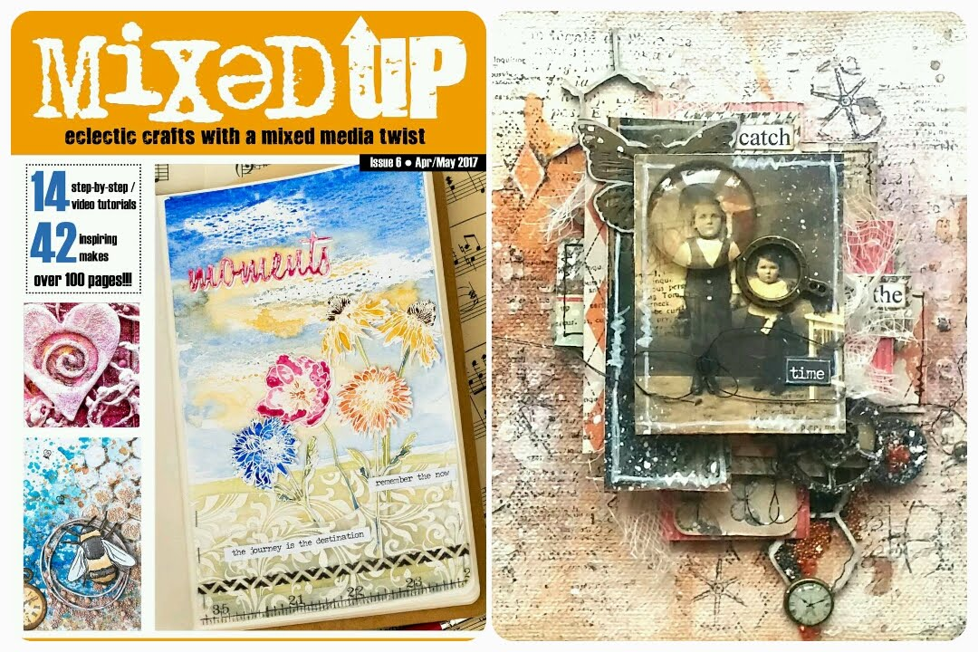 My work was published: Mixed Up magazine - Issue 6