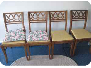 vintage craigslist chairs before picture