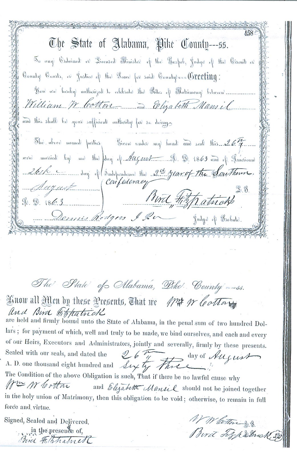 Beckys bridge to the past the mansell connection in 1850 elizabeth head of household and using the surname mansfield was enumerated in pike county with her sons william samuel daniel benjamin john aiddatafo Images