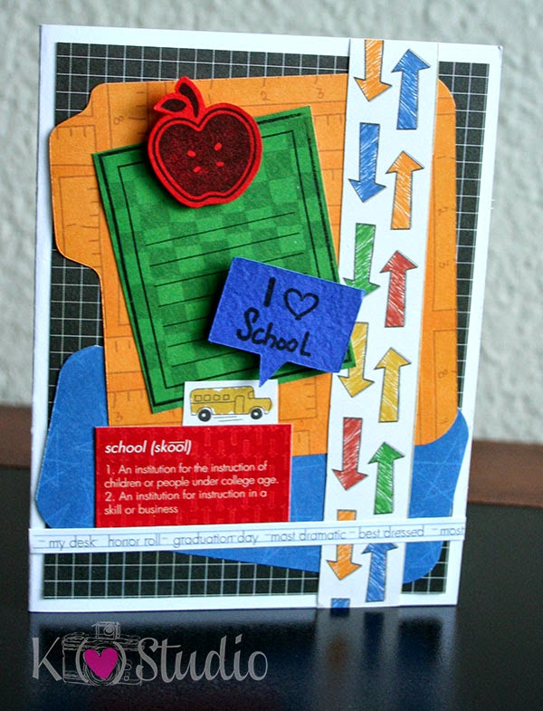 Teacher Card by K (heart) Studio