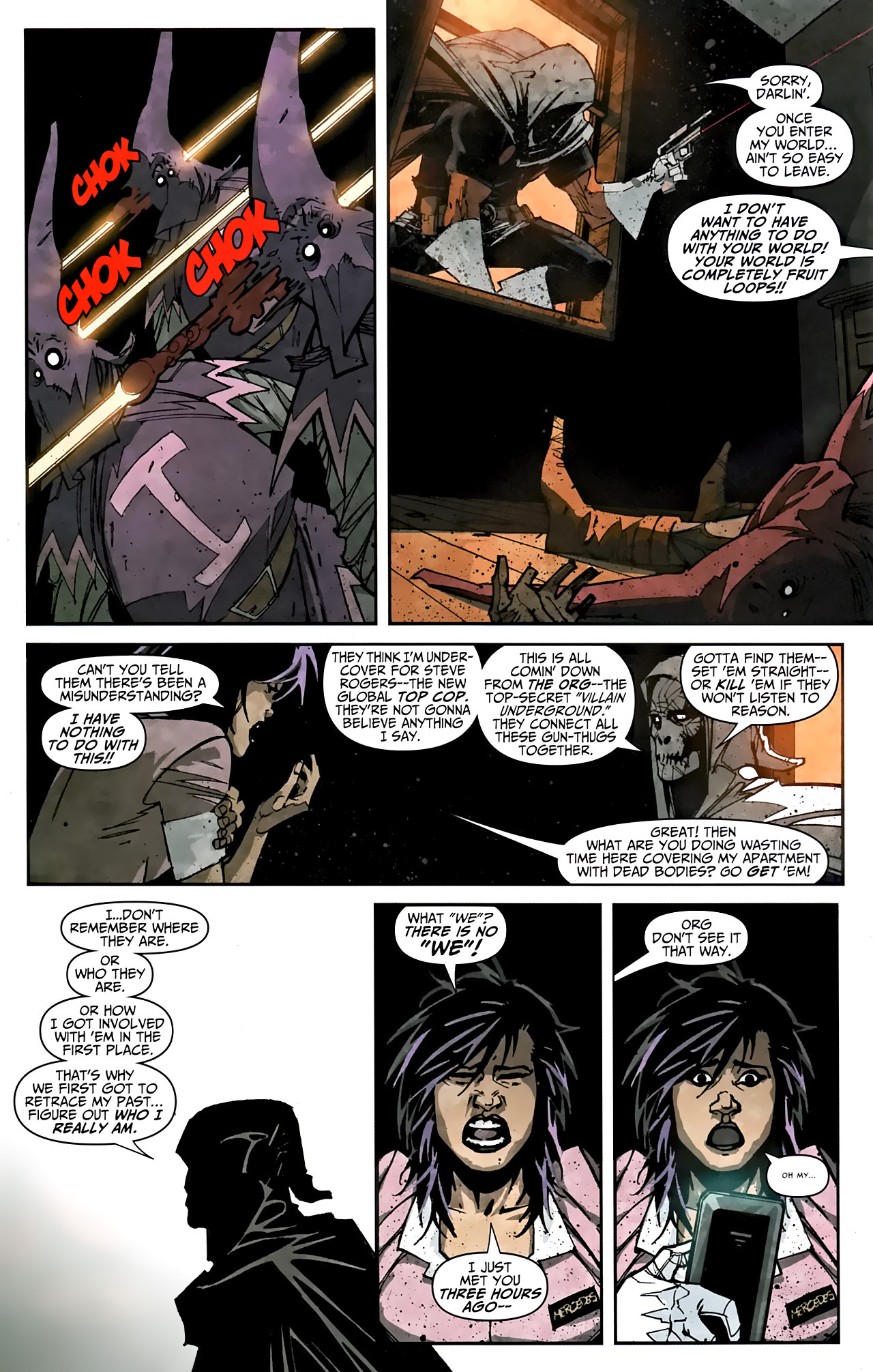 Read online Taskmaster (2010) comic -  Issue #1 - 21