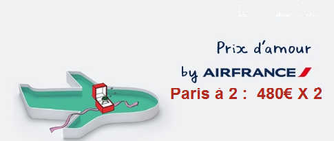 offre promo duo air france d part antilles billets paris 480 euros air bons. Black Bedroom Furniture Sets. Home Design Ideas