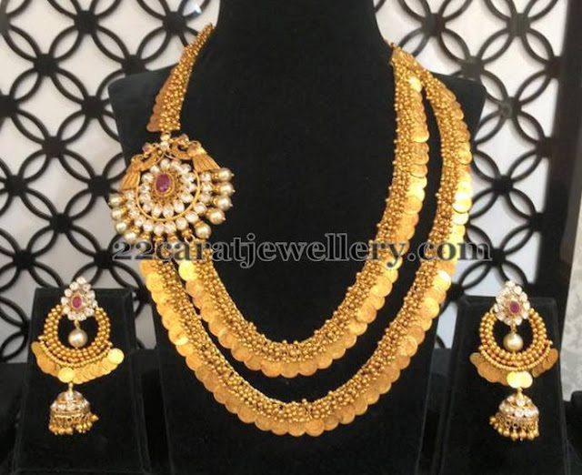 Two Layers Trendy Kasu Mala