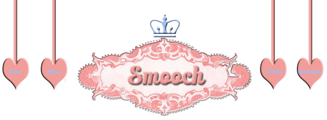 menu for smoochblog