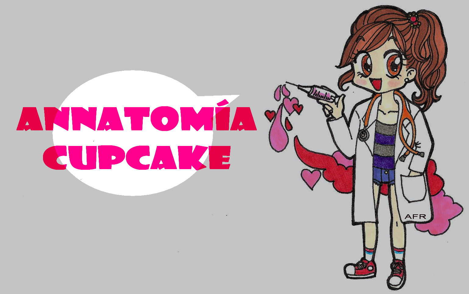 annatomía cupcake