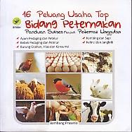 toko buku rahma: buku 16 PELUANG USAHA TOP BIDANG PETERNAKAN, pengarang bambang prasetio, penerbit lily publisher