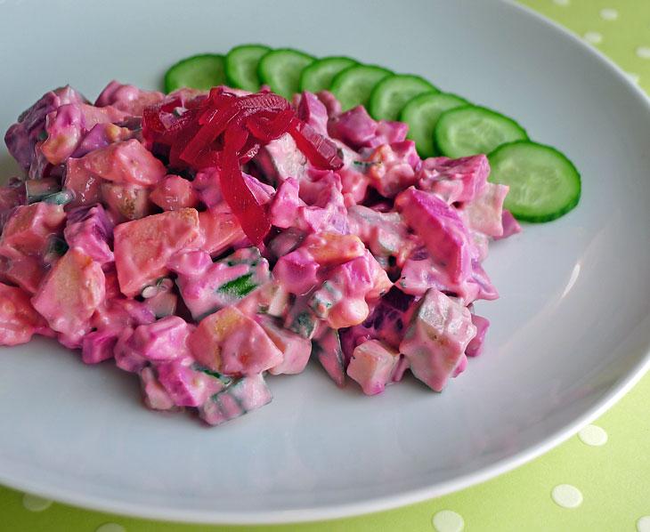 Pickled Egg Beet Salad