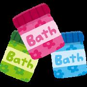 入浴剤のイラスト