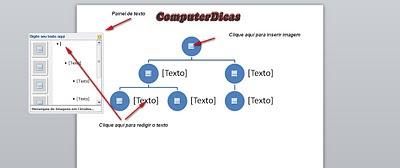 Criando organograma no Word 2010