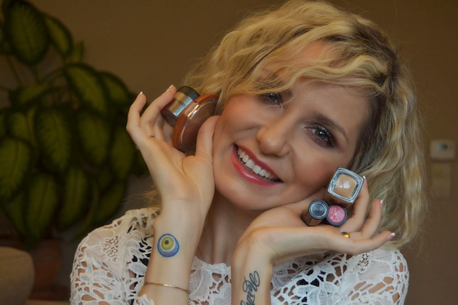türk youtuber - makyaj uygulamaları - kozmetik blogları - makyaj blogları - beş ürünle makyaj - loreal - mac cosmetics - yves rocher