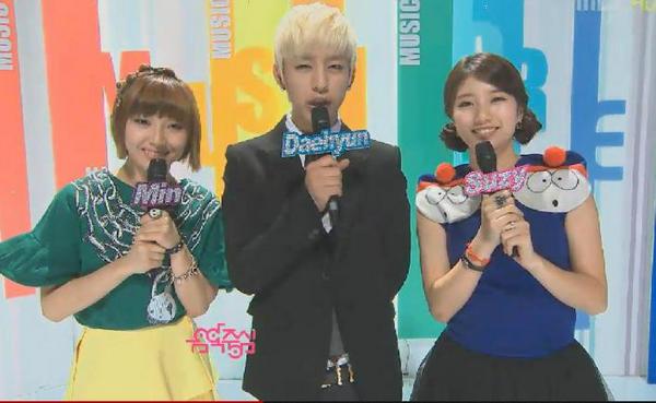 Daehyun BAP, Min & Suzy Miss A