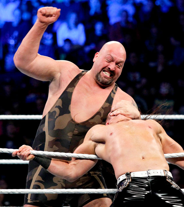Ryback Bench Press: I LOVE WWE: JINDER MAHAL V/s BIG SHOW