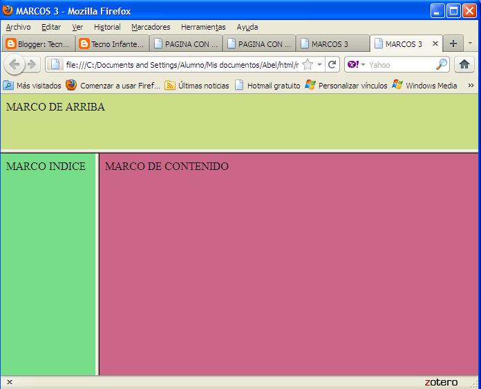 Tecno Infante Don Juan Manuel: HTML 13. MARCOS 4