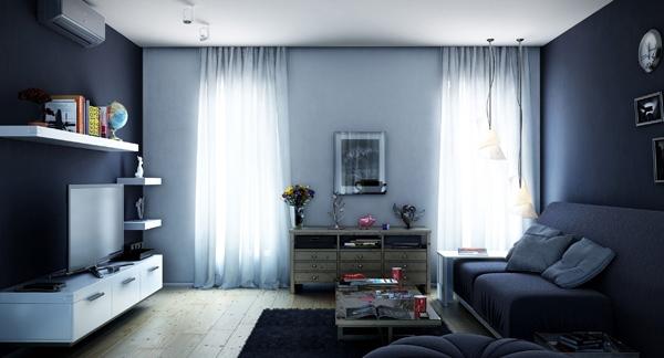 desain ruang tamu mungil dalam rumah minimalis inspirasi