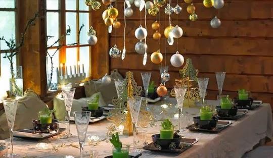 ideas para decorar la mesa perfecta para la cena de nochebuena con