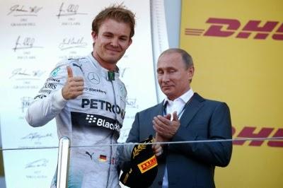 Rusya da F1 ve Putin