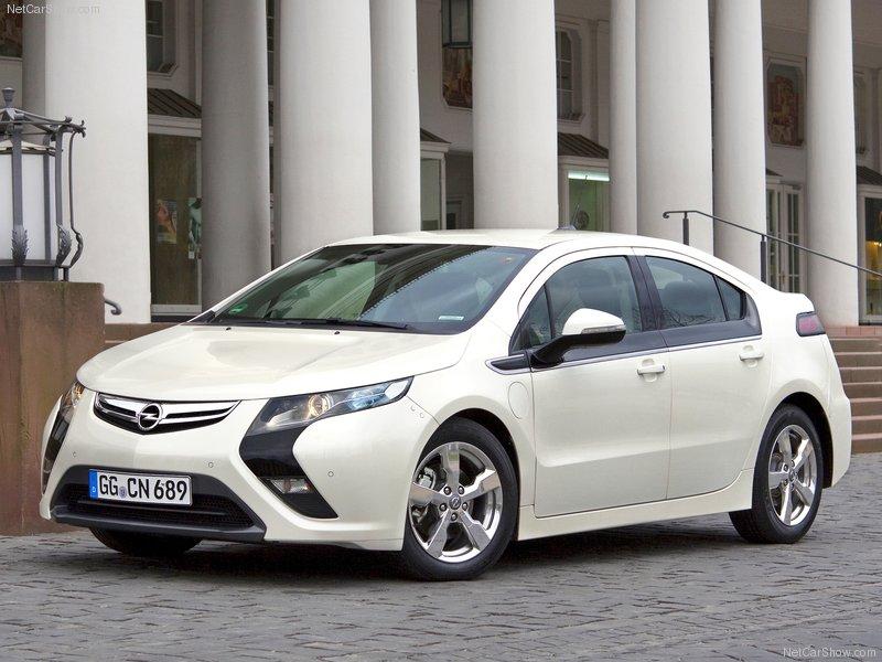 2012 Opel Ampera 5-door