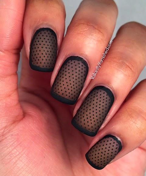 Transparent Nail Art