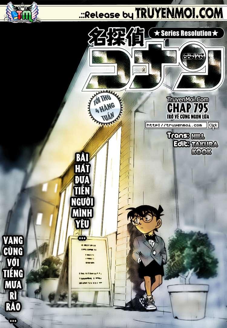 Detective Conan - Thám Tử Lừng Danh Conan chap 795 page 17 - IZTruyenTranh.com