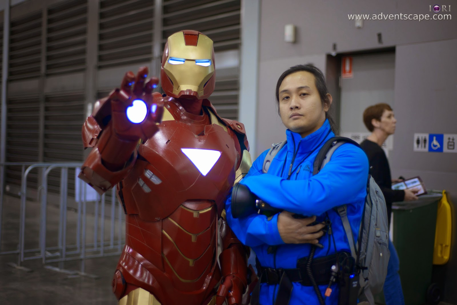 Marvel, Australia, Australian Landscape Photographer, Cosplay, Homebush, New South Wales, NSW, Philip Avellana, Sydney Olympic Park, Iron Man, Tony Stark, Stark Industries, suit