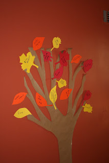 DIY Thankful Tree with Leaves