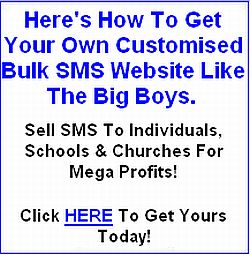 Get your own bulksms website