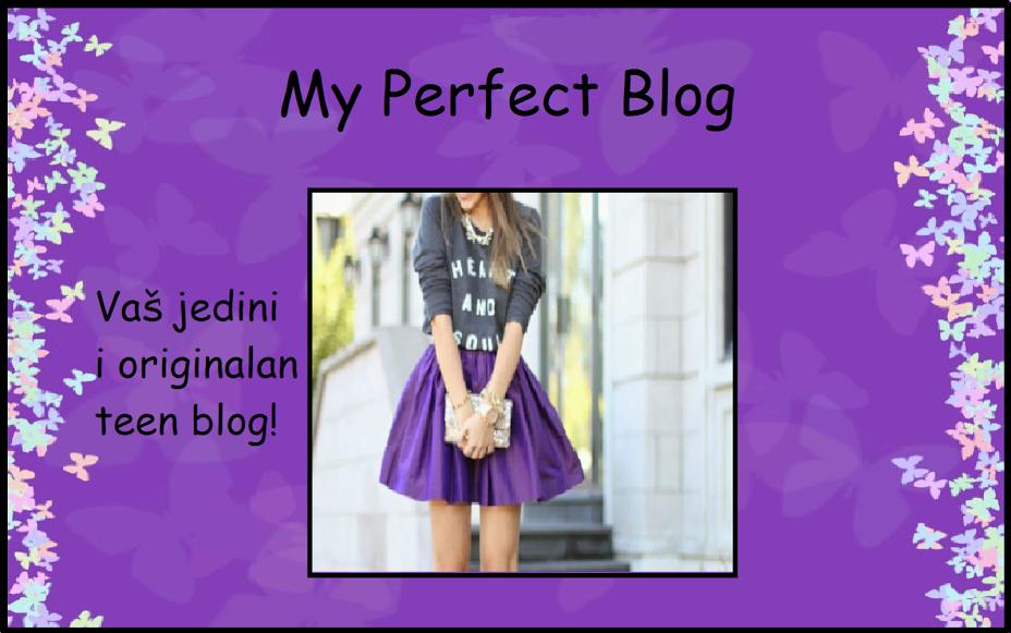 My Perfect Blog