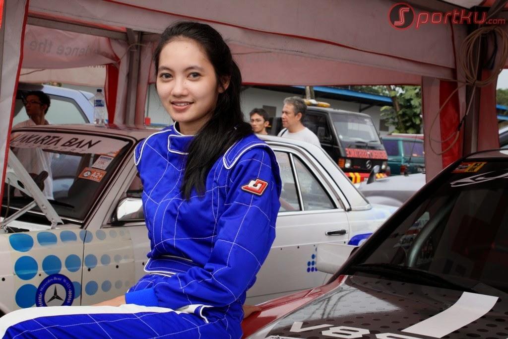 pembalap wanita indonesia tercantik diandra gautama