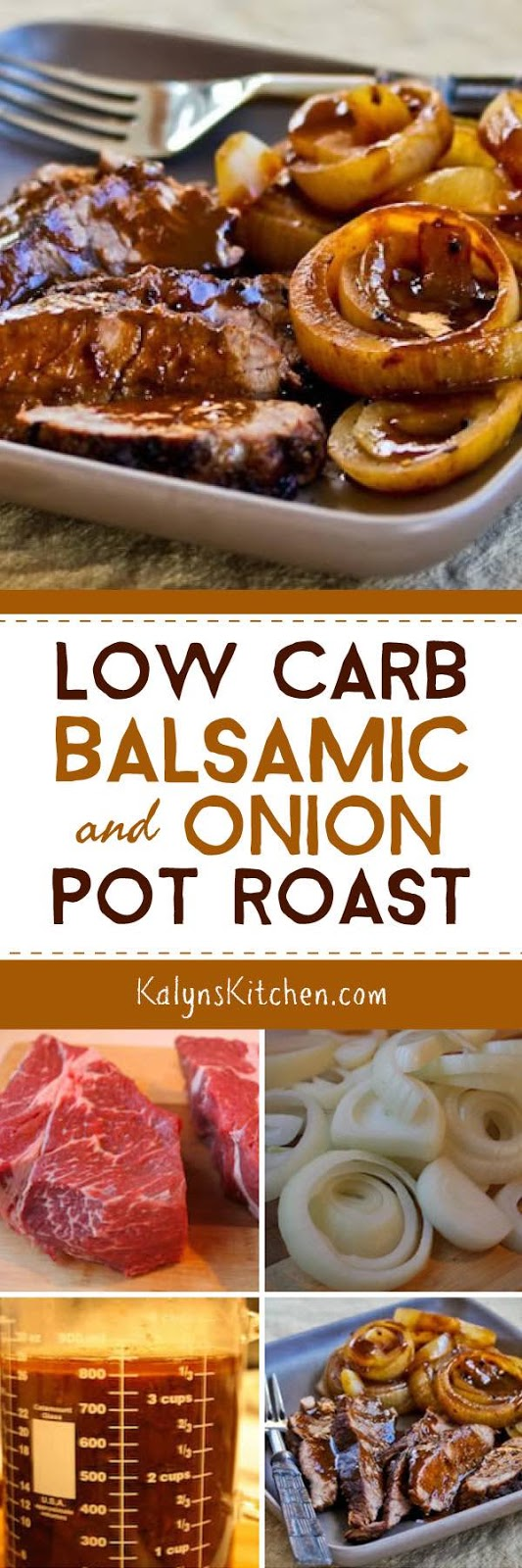 Make Pot Roast in a Crockpot and Low-Carb Balsamic and Onion Pot Roast ...