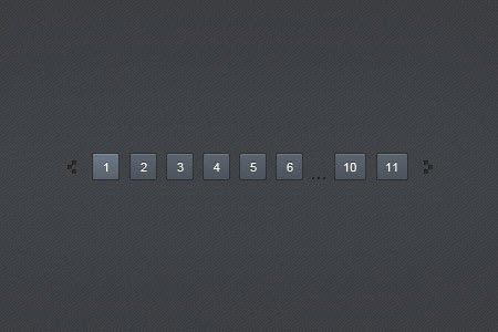 Dark Blue Pagination