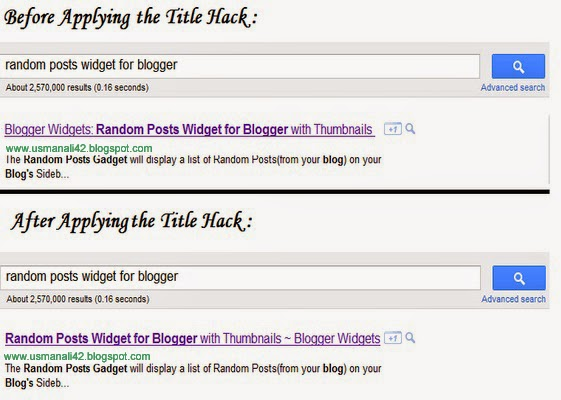 How to Show Post Title Before The Blog Title In Search Engine Index