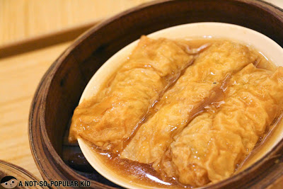 Beancurd Skin Roll with Pork and Shrimp of Tim Ho Wan